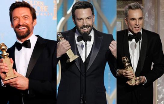 Hugh Jackman, Ben Affleck & Daniel Day-Lewis